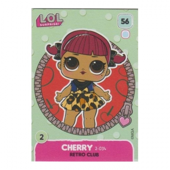 L.O.L. Surprise! Single Card : 056 CHERRY (RETRO CLUB)