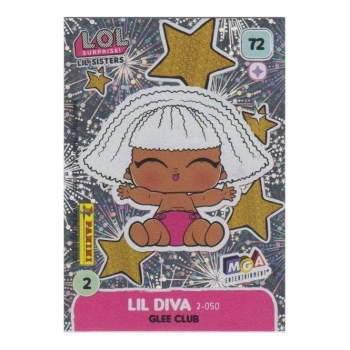 L.O.L. Surprise! Single Card : 072 LIL DIVA (GLEE CLUB)