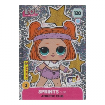 L.O.L. Surprise! Single Card : 120 SPRINTS (ATHLETIC CLUB)