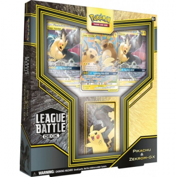 Pokemon Battle League Deck: Pikachu and Zekrom-GX