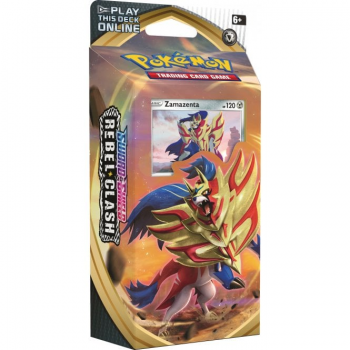 Pokemon Theme Deck : Zamazenta - Sword and Shield Rebel Clash