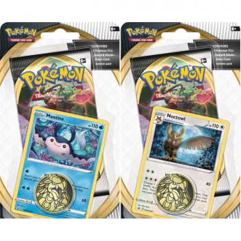 Pokemon Checklane Blister Pack (1 Pack with holo) : Set of 2 - Sword and Shield Rebel Clash