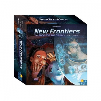 The Race for the Galaxy: New Frontiers ***DAMAGED ITEM***