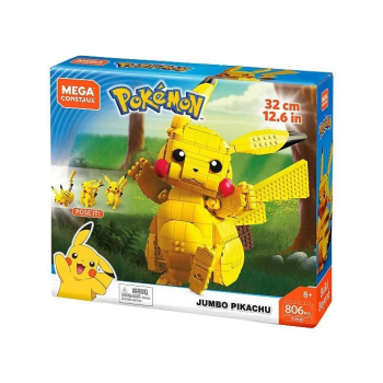Pokemon Construction Set Jumbo Pikachu