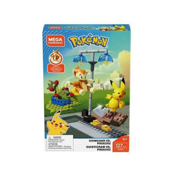 Pokemon Construction Set Pikachu Vs Chimchar
