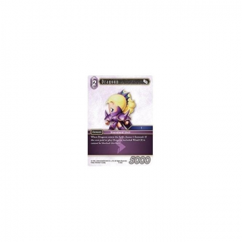 Final Fantasy TCG - Single Card Opus 7 #105f : Dragoon (FOIL)