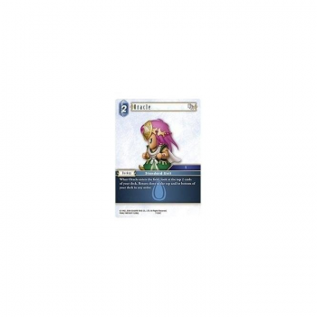 Final Fantasy TCG - Single Card Opus 7 #124f : Oracle (FOIL)