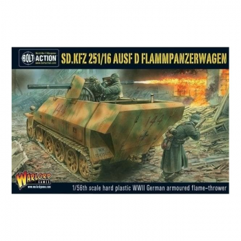 Bolt Action : Sd.Kfz 251/16 Flammpanzerwagen