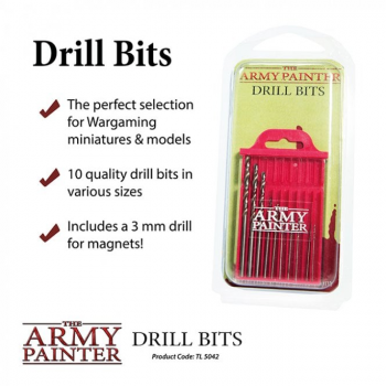 The Army Painter Drill Bits