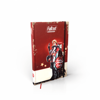 Fallout: Wasteland Warfare - Nuka Cola Girl Notebook