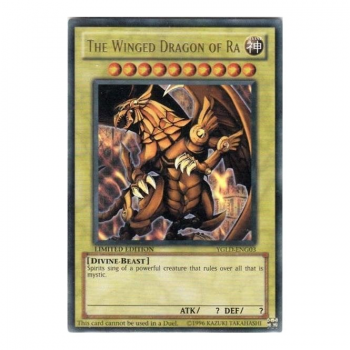 Yu-Gi-Oh! Promo Card YGLD-ENG03 The Winged Dragon of Ra (Ultra Rare)