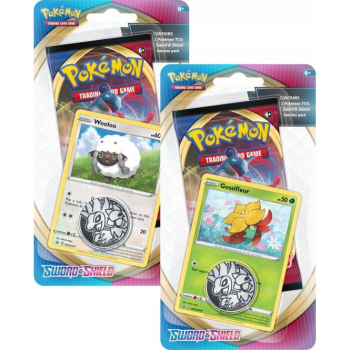 Pokemon Checklane Blister Pack (1 Pack with holo) : Set of 2 - Sword and Shield