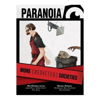 Paranoia Red Clearance Edition - More [REDACTED] Societies