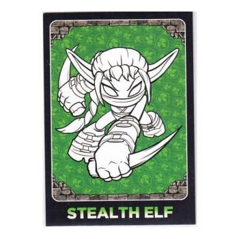 Skylanders Giants Trading Card - C1 STEALTH ELF