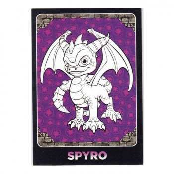 Skylanders Giants Trading Card - C4 SPYRO