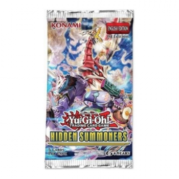 Yu-Gi-Oh! Sealed Booster Pack (5 Cards) - Hidden Summoners (1st Edition)