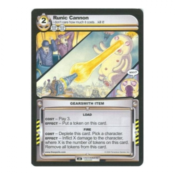 The Spoils card 1st Edition Part I (GEARSMITH) - Runic Cannon
