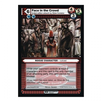 The Spoils card 1st Edition Part I (ROGUE) - Face in the Crowd
