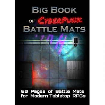 Big Book of Battle Mats (Cyberpunk A4)