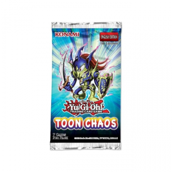 Yu-Gi-Oh! Sealed Booster Pack (7 Cards) - Toon Chaos (Unlimited Reprint)