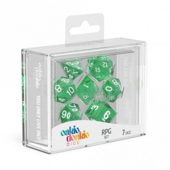 Oakie Doakie Dice Set RPG Speckled - Green (7)
