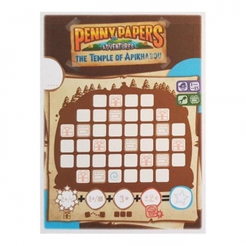 Brettspiel Advent Calendar 2018 - Penny Papers Adventures Promo (Day 20)