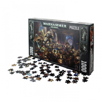 Warhammer 40K Guilliman vs Black Legion 1000pcs Puzzle ***DAMAGED ITEM***