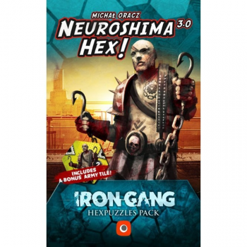 Neuroshima Hex 3.0 : Iron Gang Hexpuzzles Blister Pack