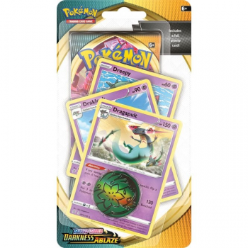 Pokemon Sword and Shield Darkness Ablaze - Premium Checklane Blister - Dragapult