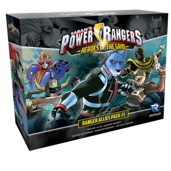 Power Rangers: Heroes of the Grid - Ranger Allies Pack #1