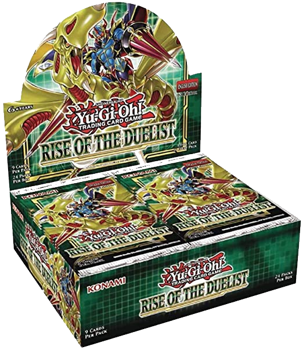 Yu-Gi-Oh! Sealed Booster BOX (24 packs) - Rise of the Duelist (1st Edition)