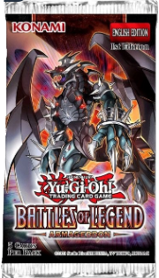 Yu-Gi-Oh! Booster Pack (5 cards) - 1st Ed : Battles of Legend Armageddon
