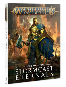 Warhammer Age of Sigmar : Battletome Stormcast Eternals ***DAMAGED ITEM***