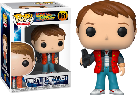 Pop! Back to the Future - Marty in Puffy Vest #961