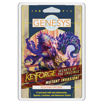 Genesys: Mutant Invasion! - Secrets of the Crucible Card Pack