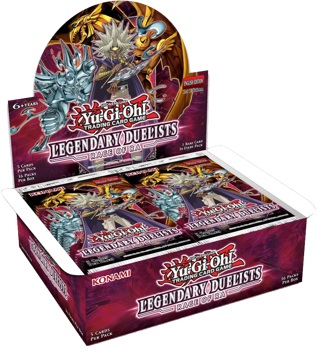 Yu-Gi-Oh! Sealed Booster BOX (36 packs) - Rage of Ra (1st Edition) Legendary Duelists