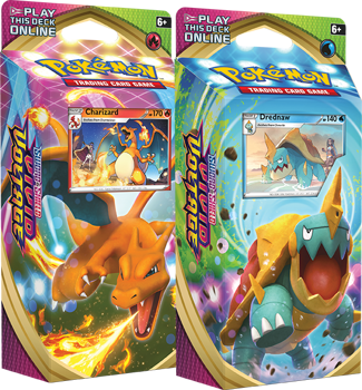 Pokemon Theme Deck : Set of Two - Sword and Shield Vivid Voltage