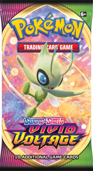 Pokemon Booster Pack (10 Cards) - Sword and Shield Vivid Voltage