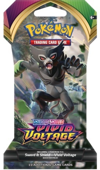Pokemon Sword & Shield SS4 Vivid Voltage Blister Pack (Zarude art)