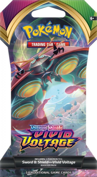 Pokemon Sword & Shield SS4 Vivid Voltage Blister Pack (Orbeetle art)