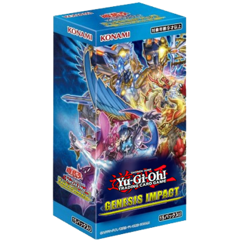 Yu-Gi-Oh! Sealed Booster BOX (24 packs) - Genesis Impact (1st Edition)