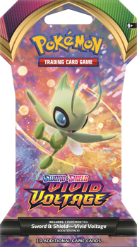 Pokemon Sword & Shield SS4 Blister Pack (Celebi art) Vivid Voltage