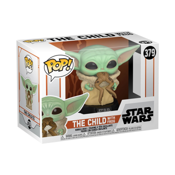 Pop! Star Wars: The Mandalorian - The Child with Frog #379