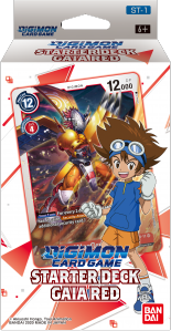 Digimon Trading Card Game: Starter Deck Gaia Red