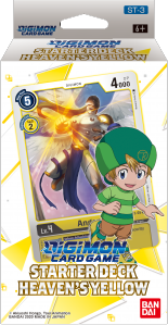 Digimon Trading Card Game: Starter Deck Heaven's Yellow