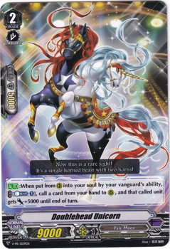 Cardfight!! Vanguard Promotional Card : V-PR/0159 Doublehead Unicorn
