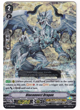 Cardfight!! Vanguard Promotional Card : V-PR/0154 Diaconnect Dragon (Foil)