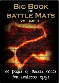 Big Book of Battle Mats (Fantasy A4) Volume II