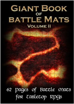 Big Book of Battle Mats (Fantasy A3) Volume II