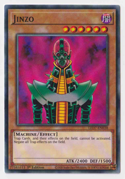 Yu-Gi-Oh! Single Card LED7-EN038 Jinzo (Common)